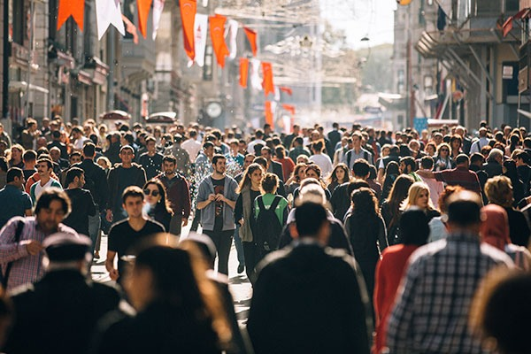 God's Heart For The Nations - Crowd Of People