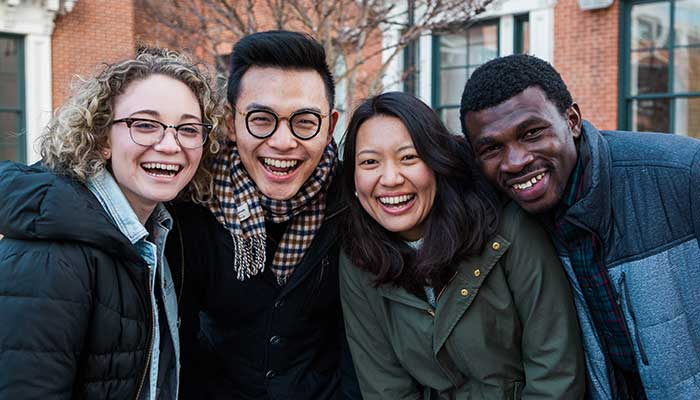 Crossing Cultures - About The Course - Happy Group Of Various Ethnicity Photo