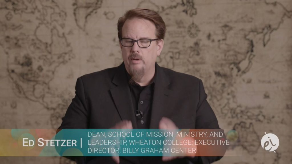 Ed Stetzer - Dean school of Mission, ministry and Leadership, Wheaton College, Executive Director, Billy Graham Center