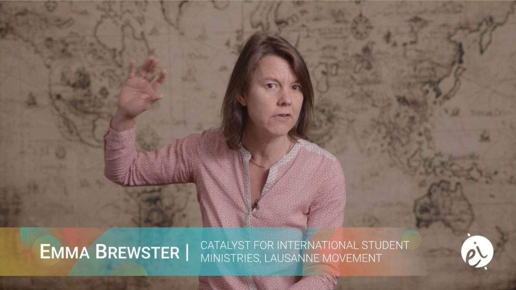 Emma Brewster -Catalyst for International Student Ministries, Lausanne Movement