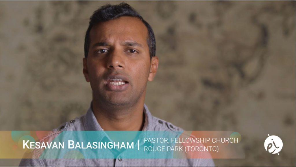 Kesavan Balasingham - Pastor, Fellowship Church Rouge Park (Toronto)