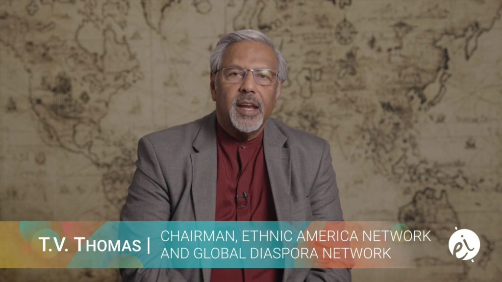 T.V. Thomas - Chairman, Ethnic America Network and Global Diaspora Network
