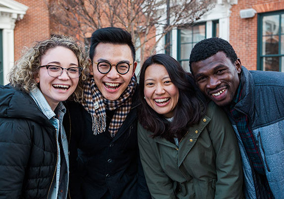 Crossing Cultures - Happy Group Of Various Ethnicity Photo